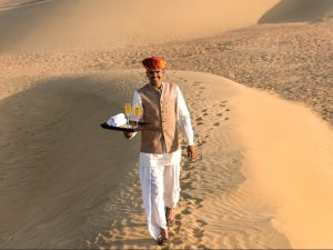 Karma Golden Camp, Suaka Petualang di Rajasthan